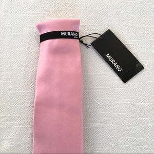 NWT Murano Silk Tie 🕶 Men's Slim Pink Silk Tie